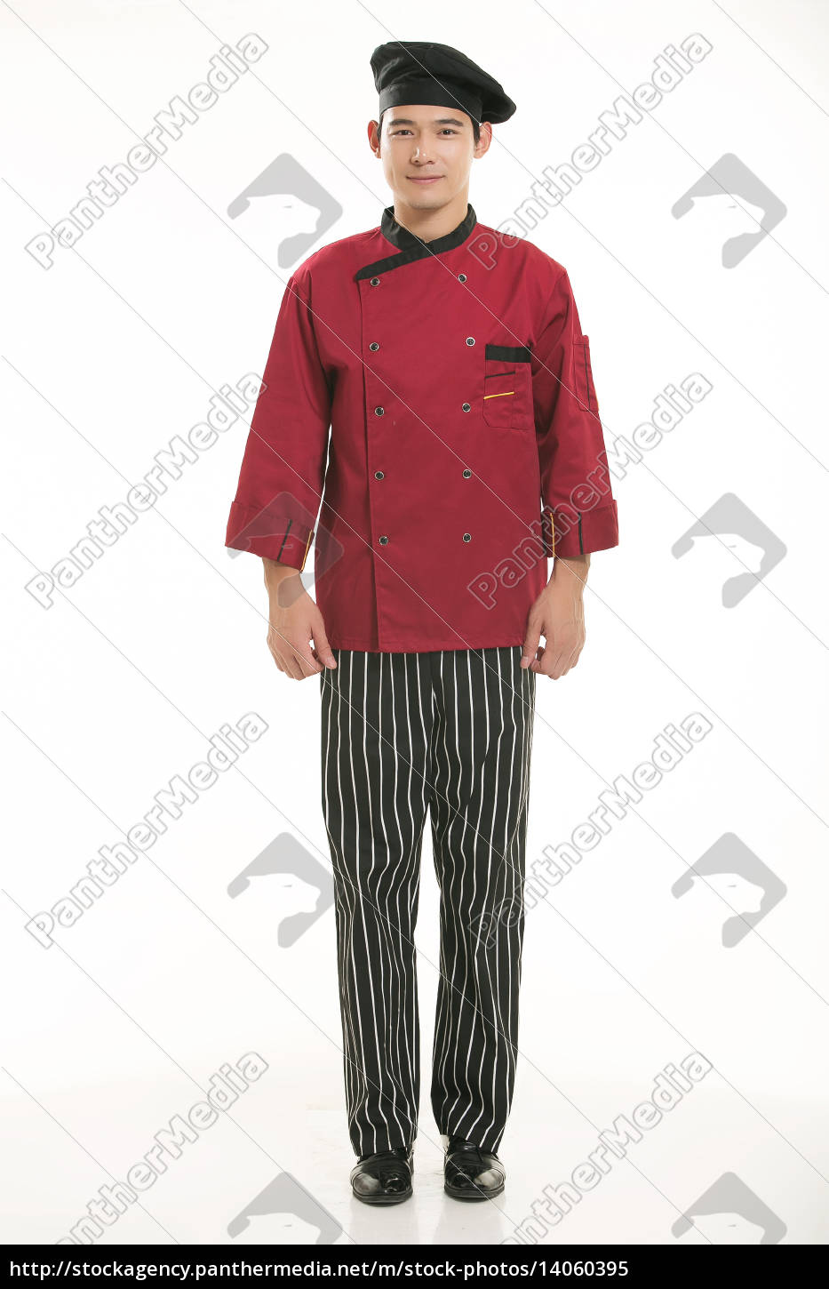 wearing, all, kinds, of, clothing, chef - 14060395