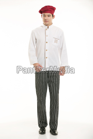 wearing, all, kinds, of, clothing, chef - 14060459