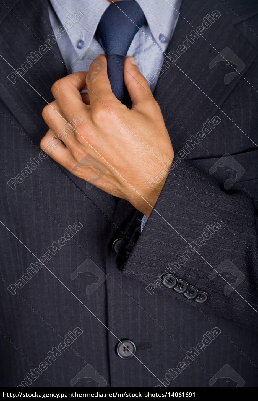 blue, tie - 14061691