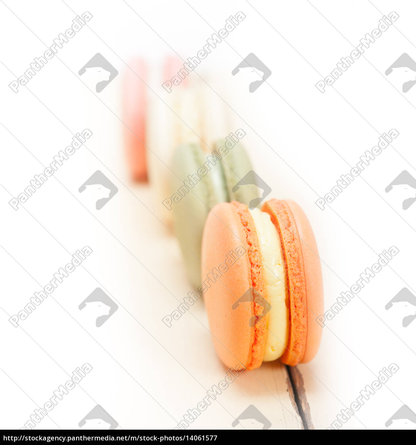 colorful, french, macaroons - 14061577
