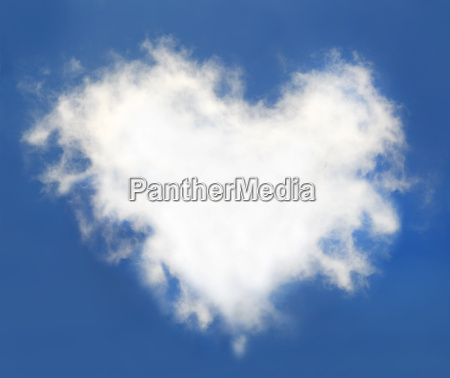 heart, cloud, in, the, blue, sky - 14061543