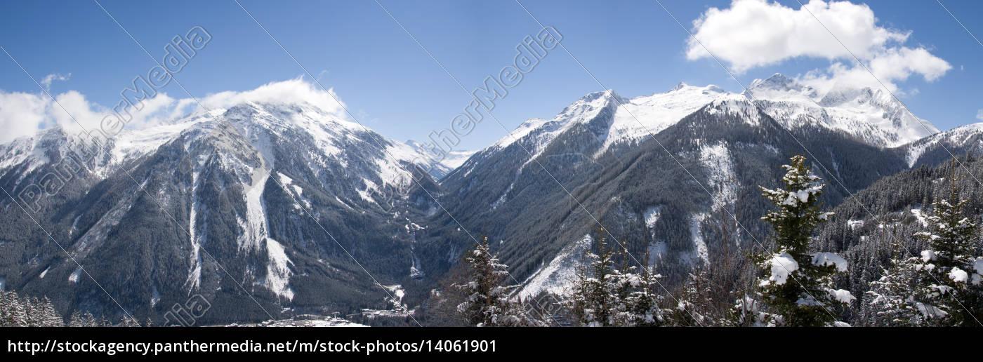 krimmel, waterfalls, pinzgau, austria - 14061901