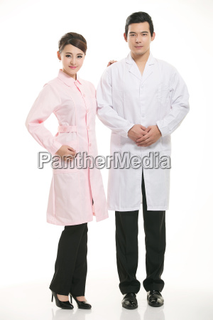 staff, wear, coats, in, front, of - 14061421