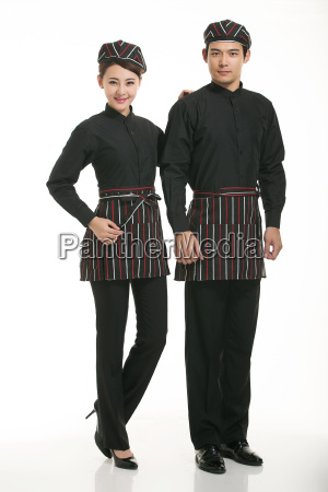 wear, clothing, occupation, chinese, waiters, in - 14061163