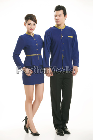 wear, clothing, occupation, chinese, waiters, in - 14061289