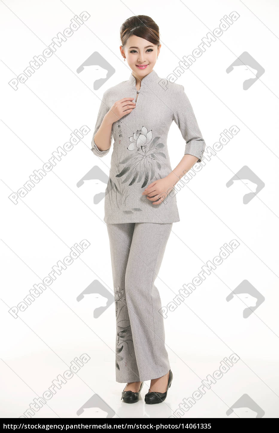 wear, clothing, occupation, chinese, waiters, in - 14061335