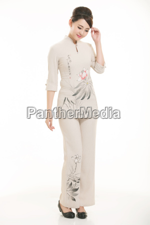 wear, clothing, occupation, chinese, waiters, in - 14061367
