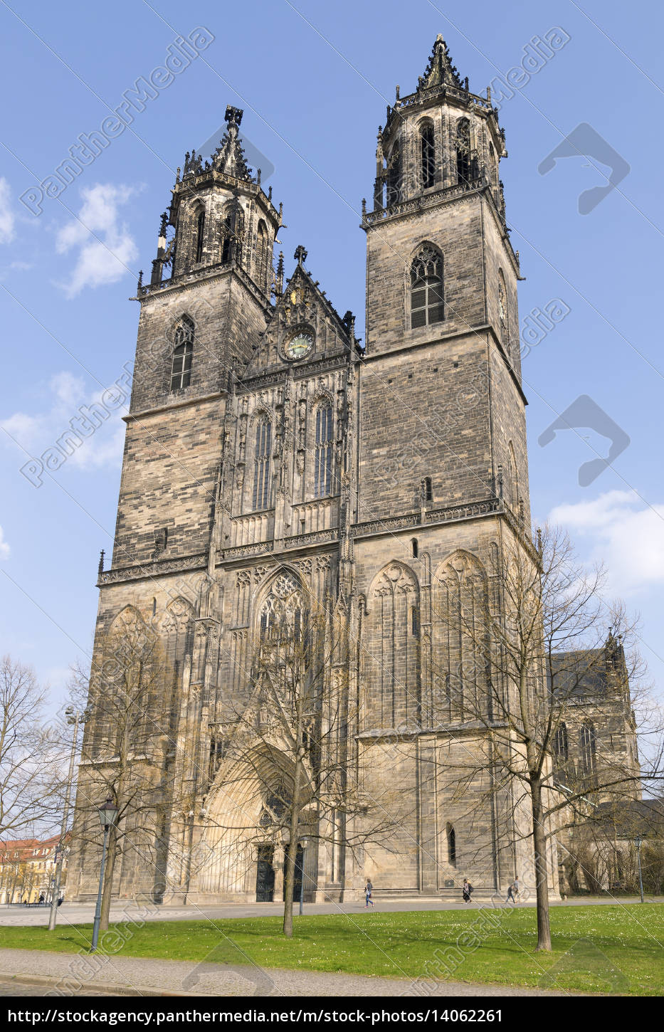 cathedral, in, magdeburg, , germany - 14062261