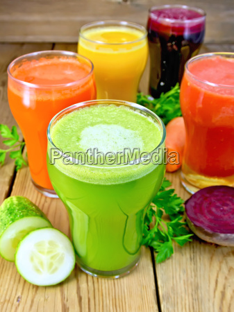 juice, cucumber, and, vegetable, in, glassful - 14063889