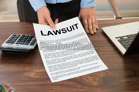 lawyer, showing, the, lawsuit, document - 14063155