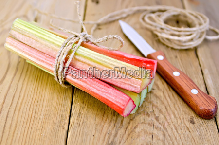 rhubarb, with, coil, of, rope, and - 14064195