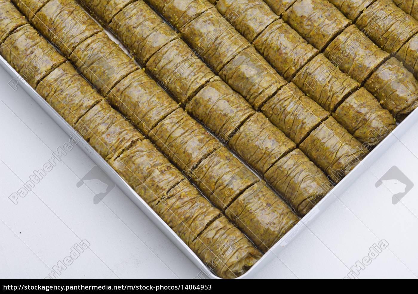turkish, pastry, kadaif - 14064953
