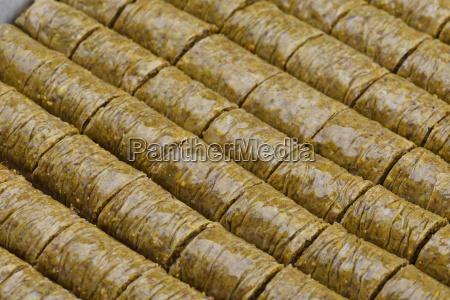 turkish, pastry, kadaif - 14064959