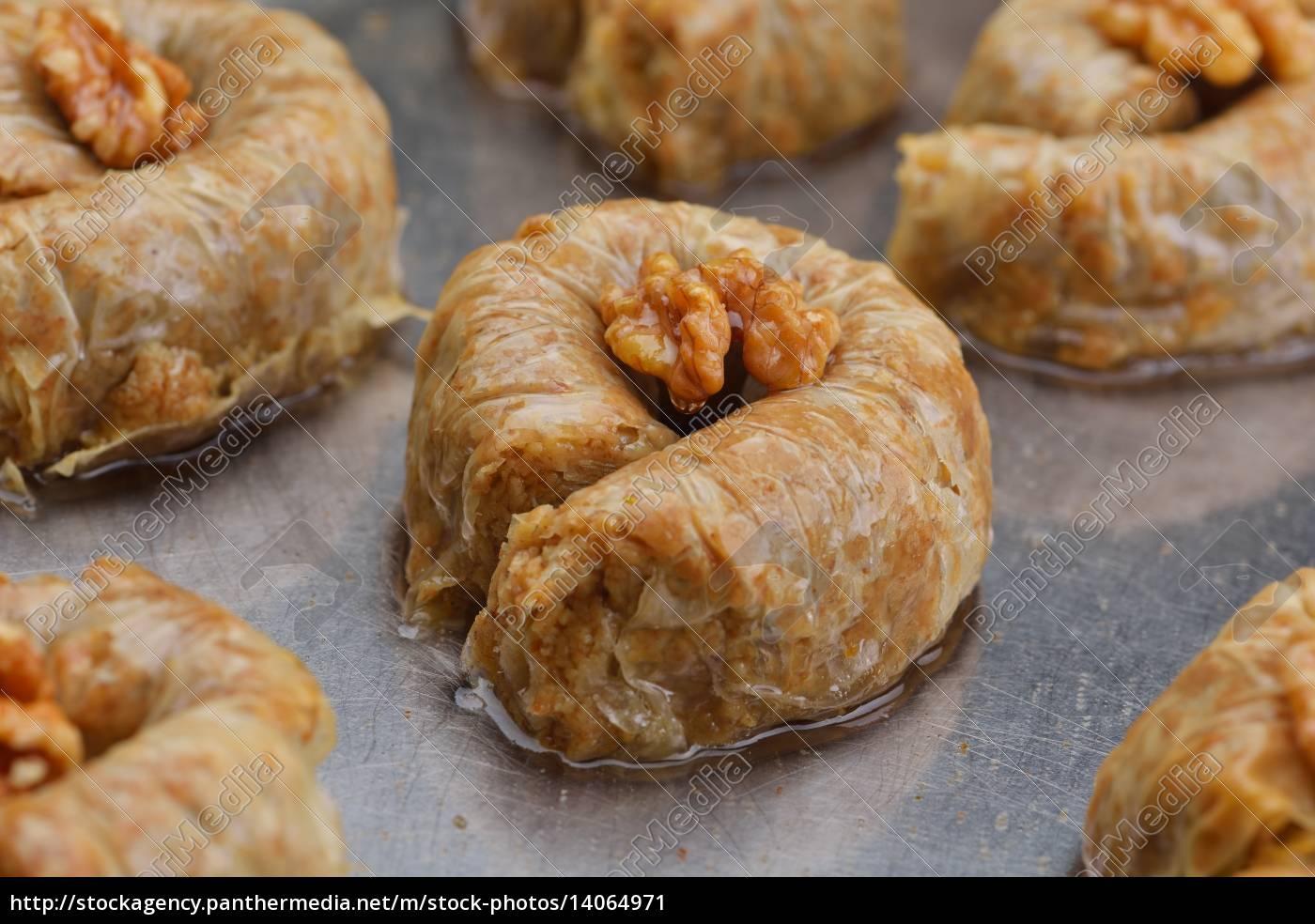 turkish, pastry, kadaif - 14064971