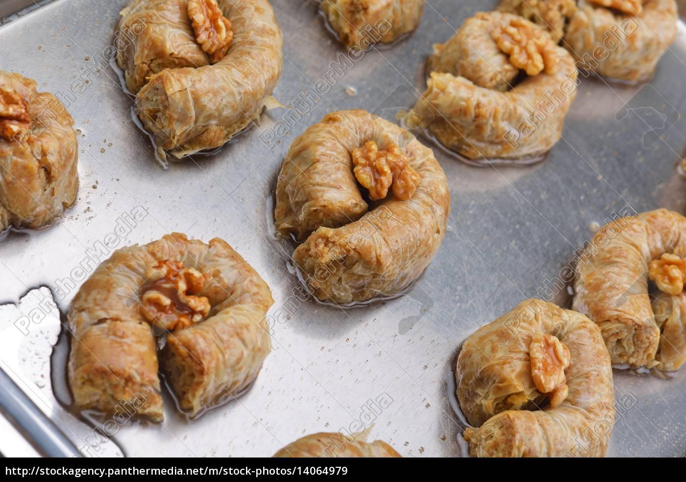 turkish, pastry, kadaif - 14064979