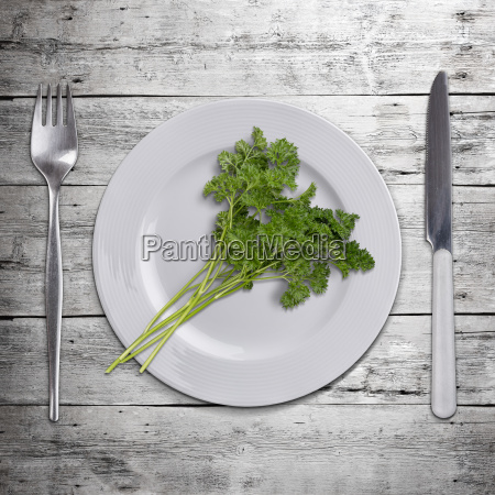 bunch, of, parsley - 14066285