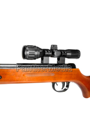 air, rifle, with, a, telescopic, sight - 14067405