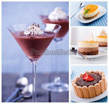 dessert, collage - 14068729