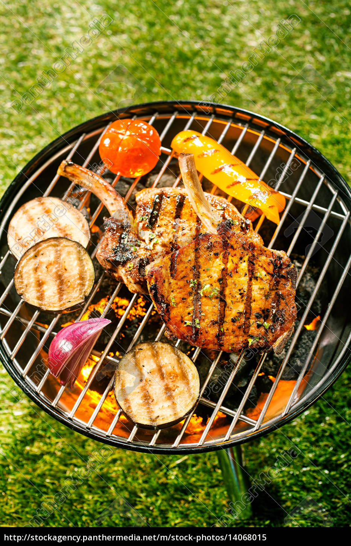 healthy, outdoor, living, summer, bbq - 14068015