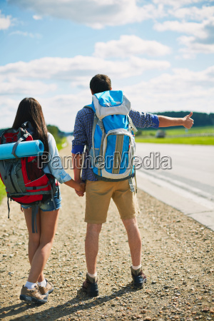 hitch-hike, travel - 14068537