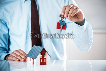 house, building, office, hand, hands, desk - 14068087