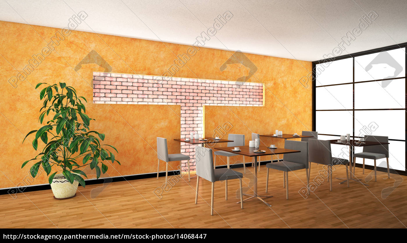 interior, rendering, of, a, bar, with - 14068447