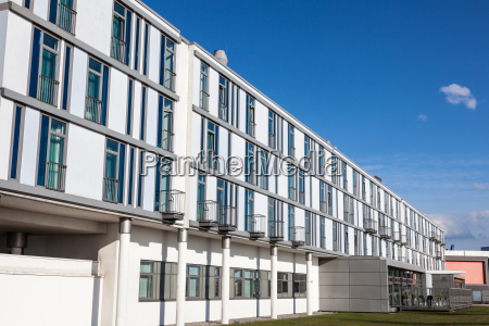 white building with modern urban architecture