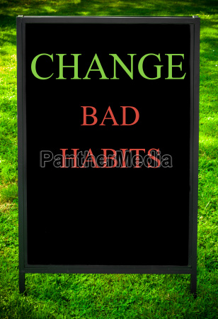 change, bad, habits - 14069523