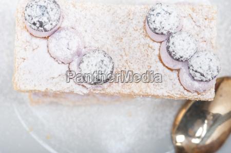 napoleon, blueberry, cake, dessert - 14070359