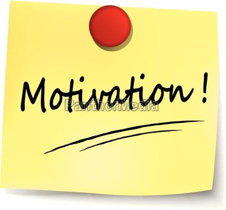 motivation note
