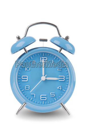 blue, alarm, clock, isolated, on, white - 14071661
