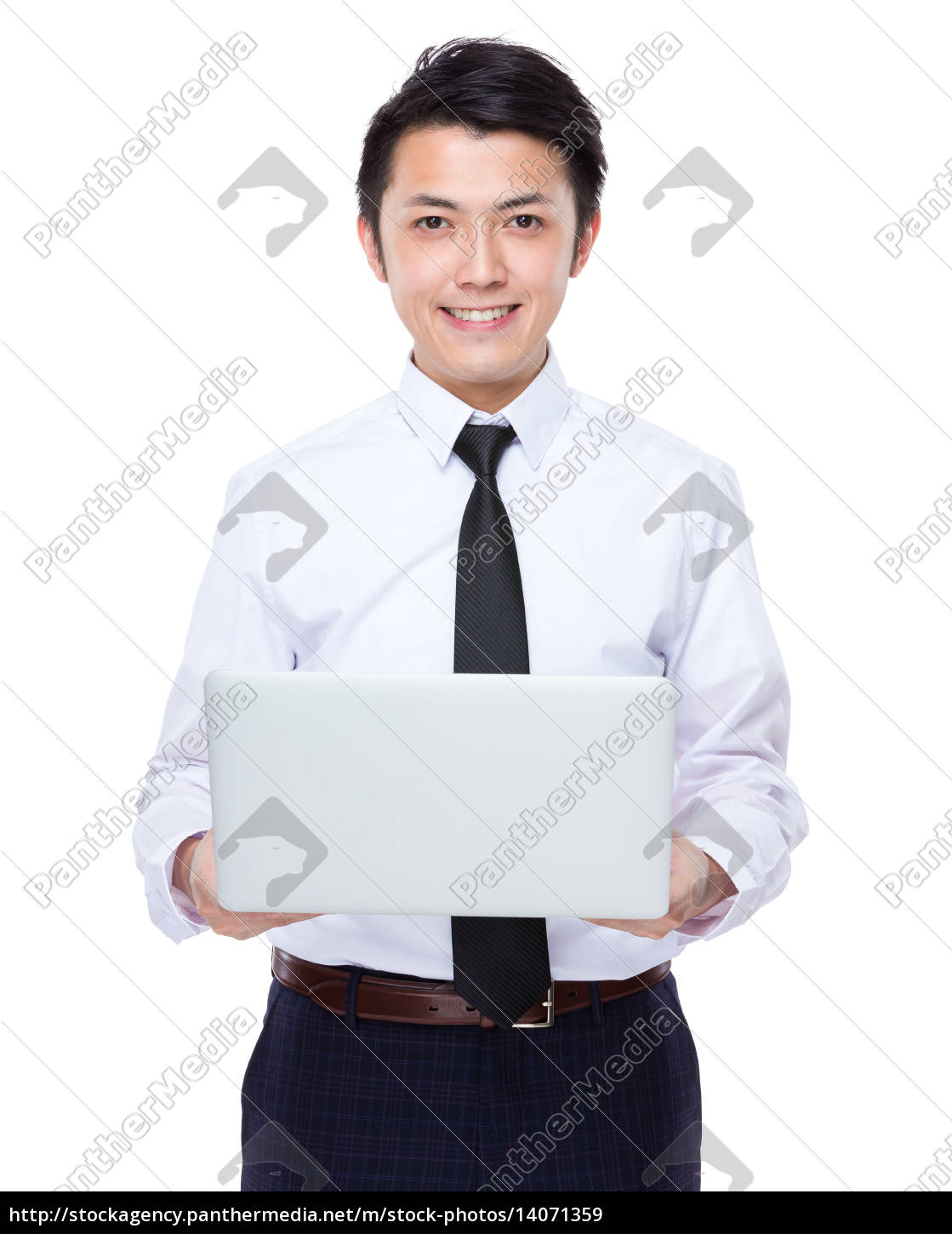 businessman, use, of, notebook - 14071359