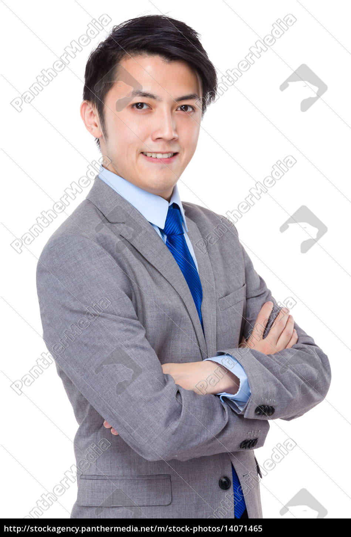smart, asian, business, man - 14071465