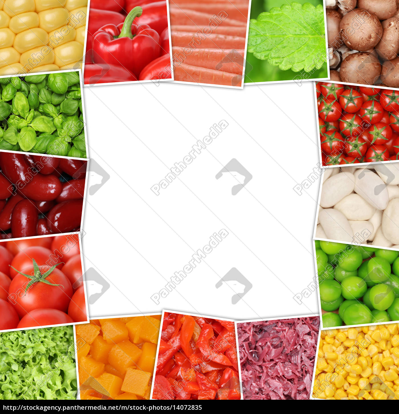 frame, of, vegetables, such, as, tomatoes, peppers, lettuce, mushrooms, herbs - 14072835