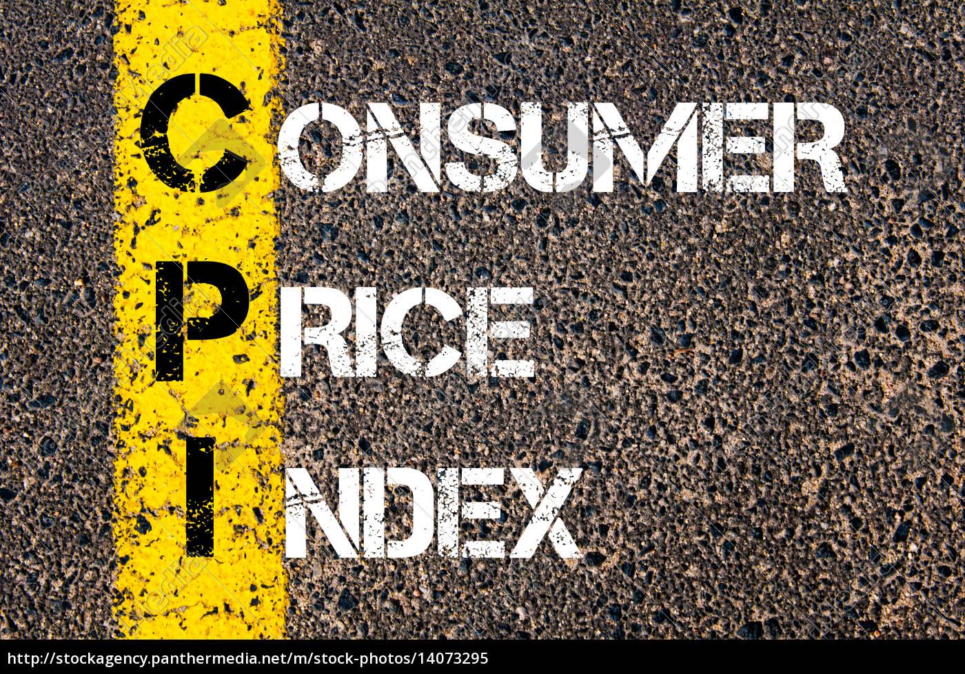 business, acronym, cpi, as, consumer, price - 14073295