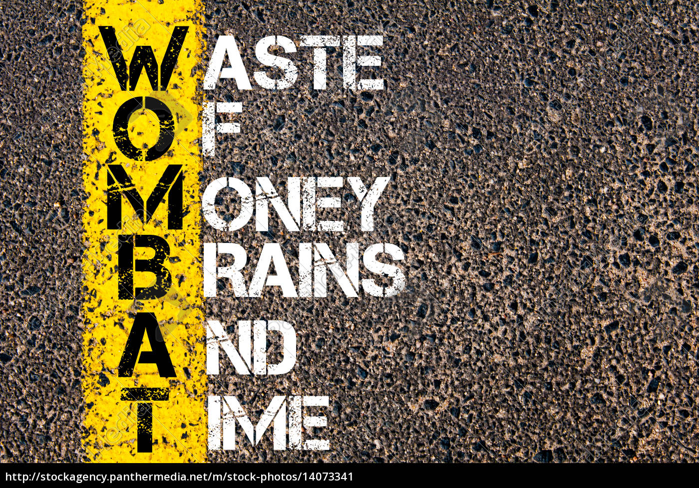 business, acronym, wombat, as, waste, of - 14073341