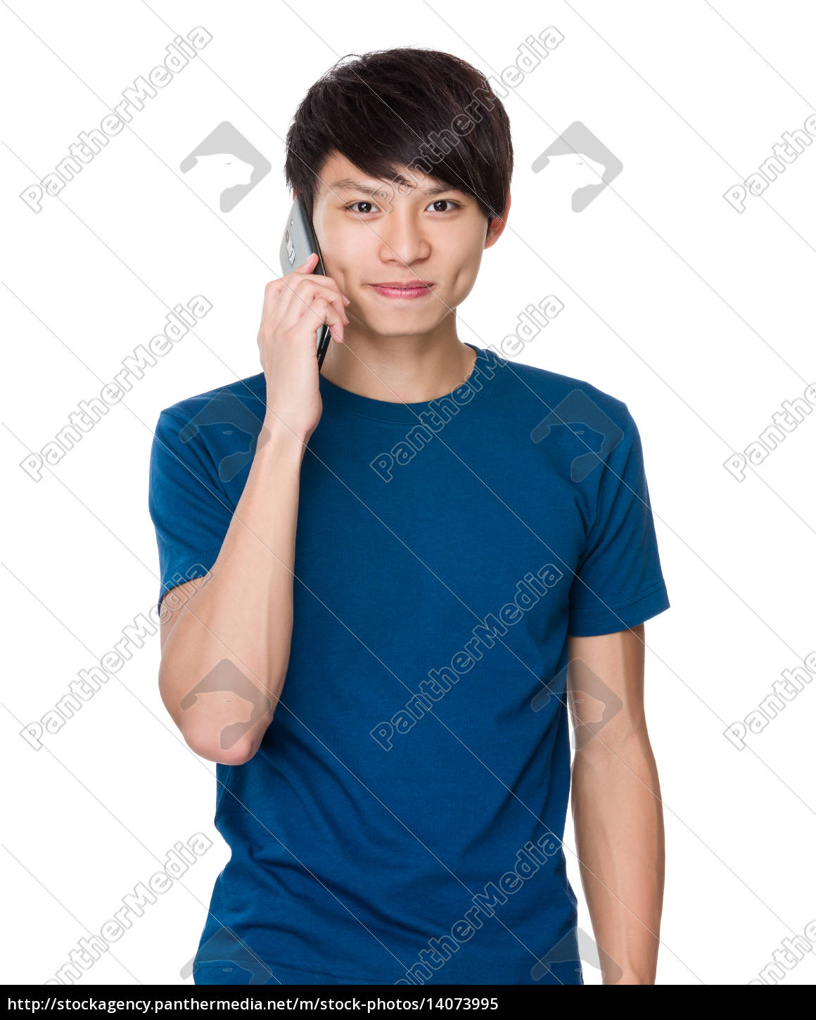 man, talk, to, mobile, phone - 14073995