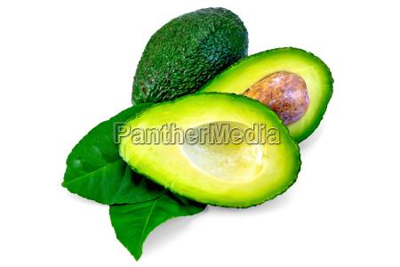 avocado, green, sheet, is, cut - 14074891