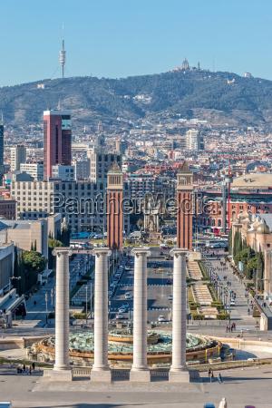 landscape, from, barcelona, (spain) - 14074361