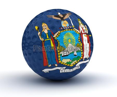 newyork, golf, ball - 14074389
