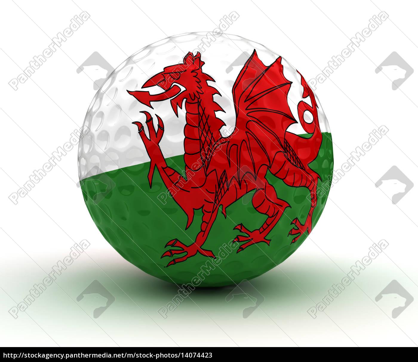 welsh, golf, ball - 14074423
