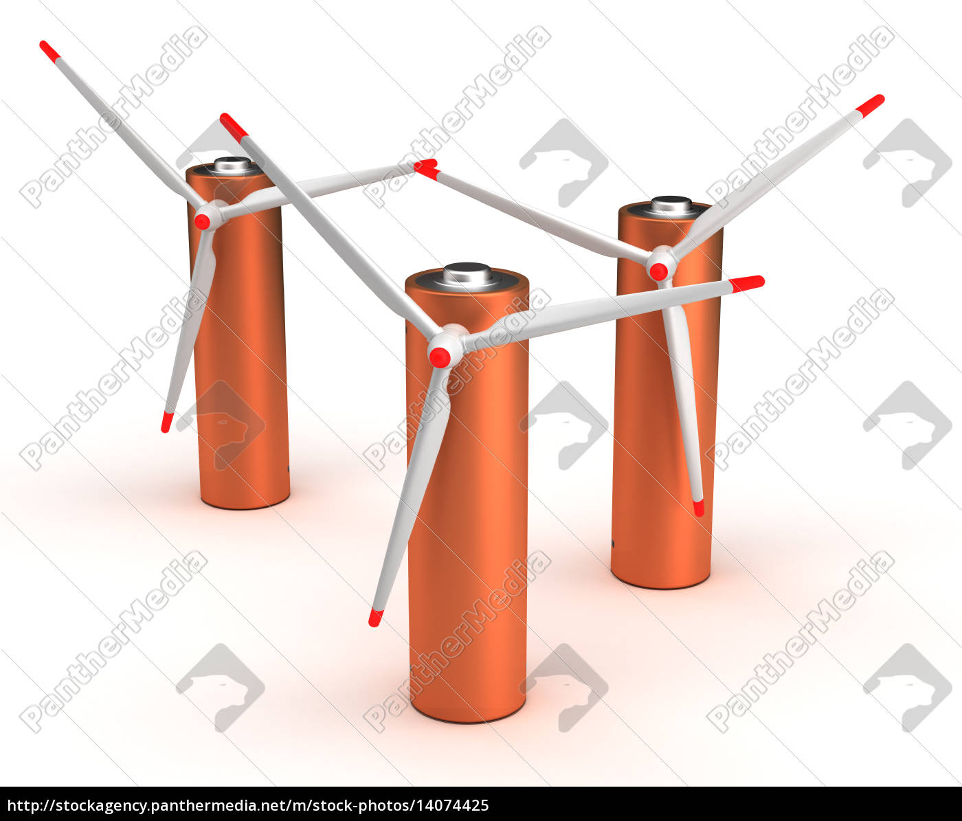 wind, turbine, batteries - 14074425