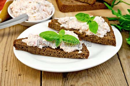 sandwiches, with, cream, of, salmon, with - 14075129