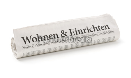 zeitungsrolle, entitled, living, and, furnishing - 14075635