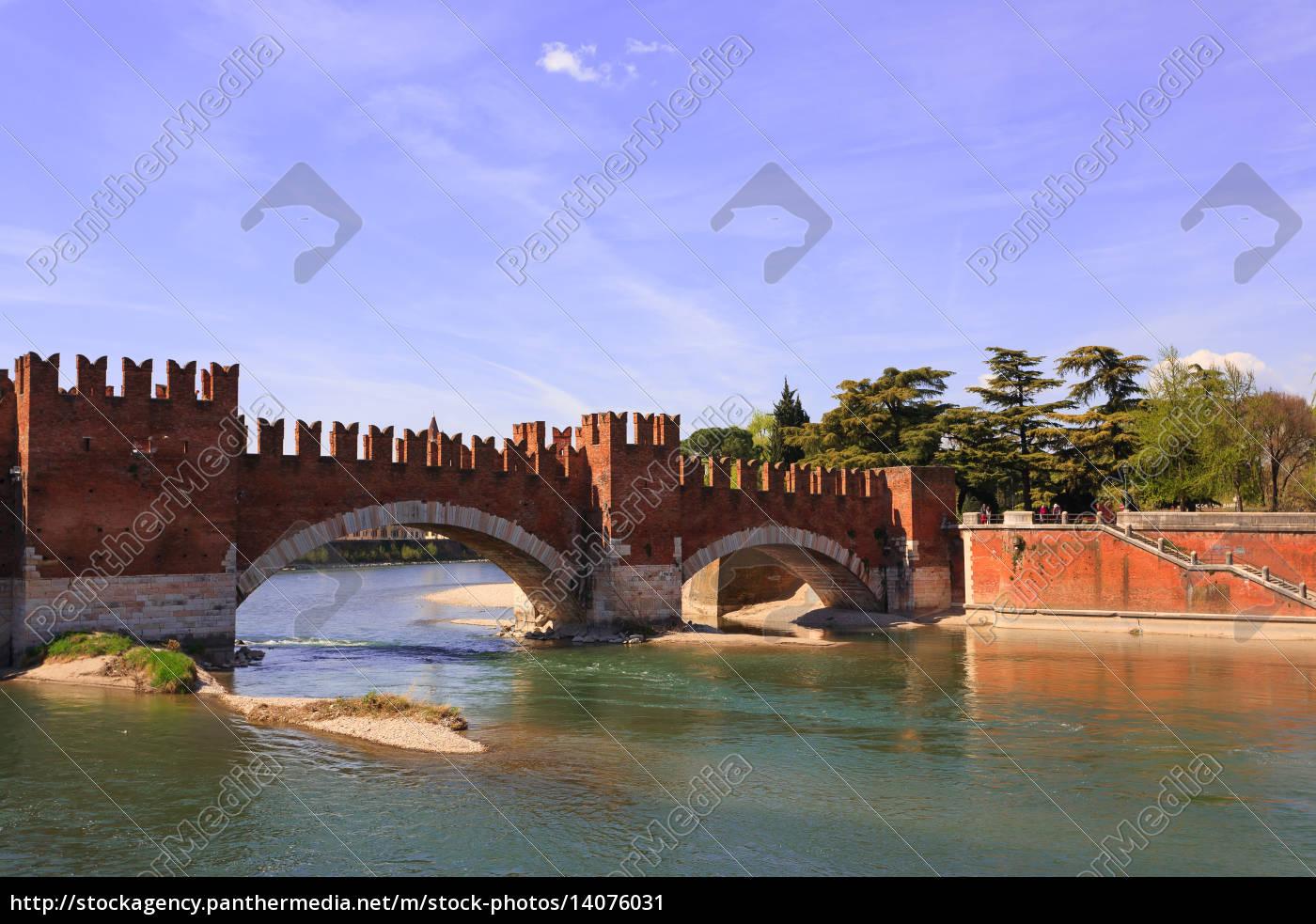 castel, vecchio, bridge, , verona - 14076031