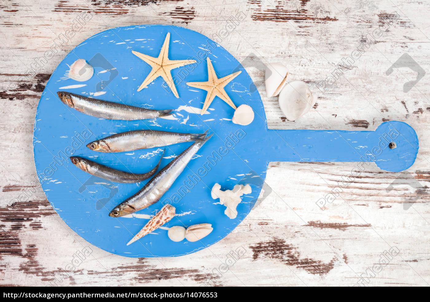 delicious, fresh, sardines, fish. - 14076553
