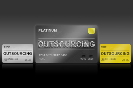 planning outsourcing card
