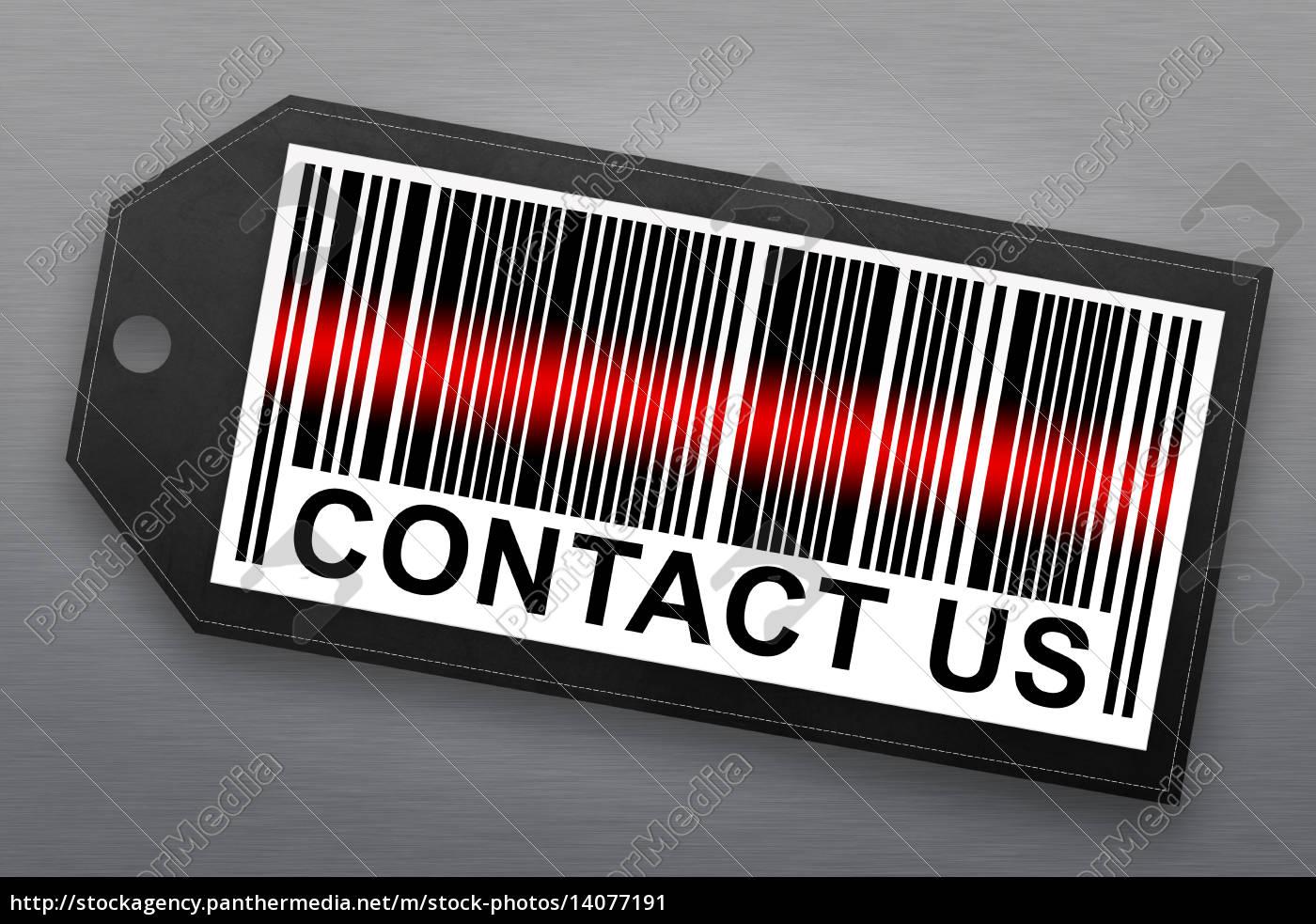 contact, us, barcode - 14077191