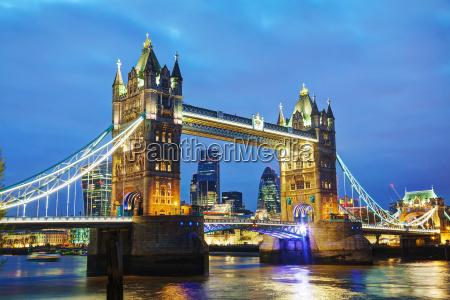 tower bridge in london great britain