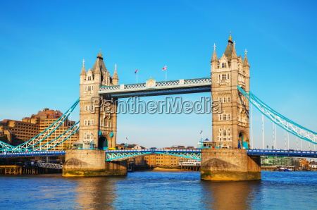 tower bridge in london great britain